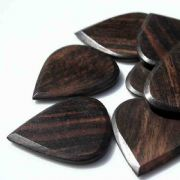 Blues Tones - Ebony - 1 Guitar Pick | Timber Tones